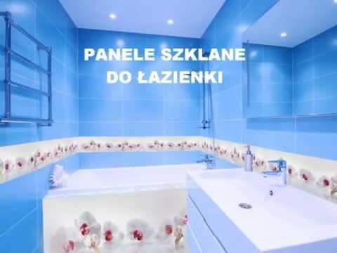 Panele Szklane Do łazienki Colour Glass Poznań Youtube