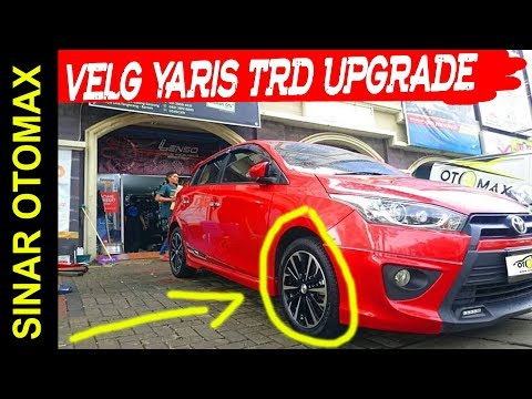 Velg New Yaris Trd Toyota Sportivo 2017 Upgrade Mobil Ring 16 By Sinar Otomax