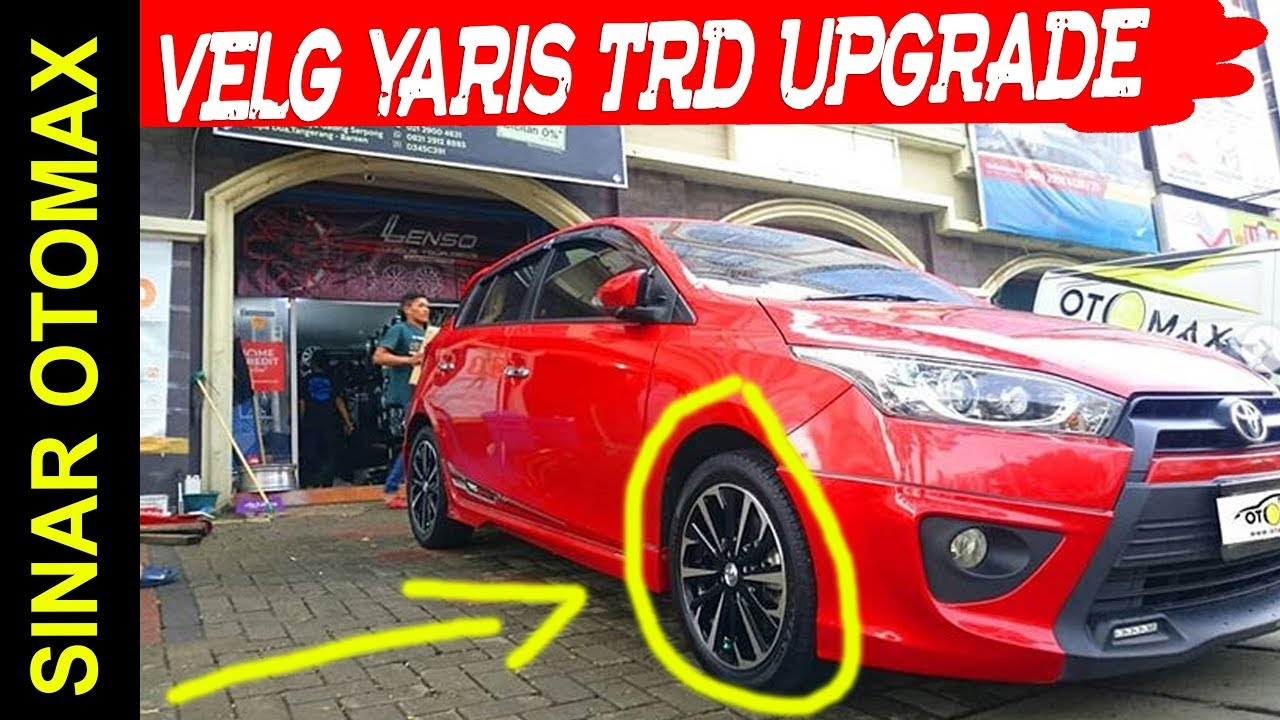velg new yaris trd jual grand avanza upgrade mobil toyota sportivo ring 16 by sinar otomax sinarotomax toyotayaris velgmobil