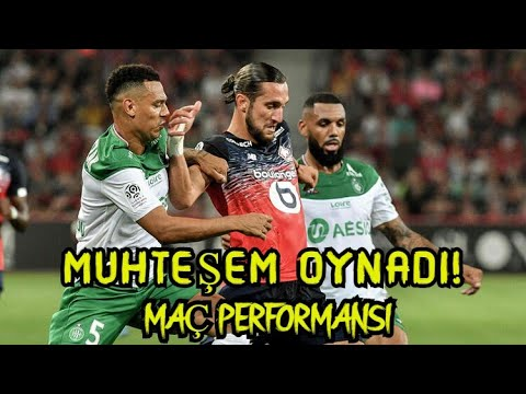 Yusuf Yazıcı vs Saint-Etienne Maç Performansı HD • 28/08/2019