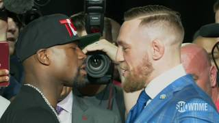Mayweather-McGregor Fuel Drama In 2nd News Conference   ESPN