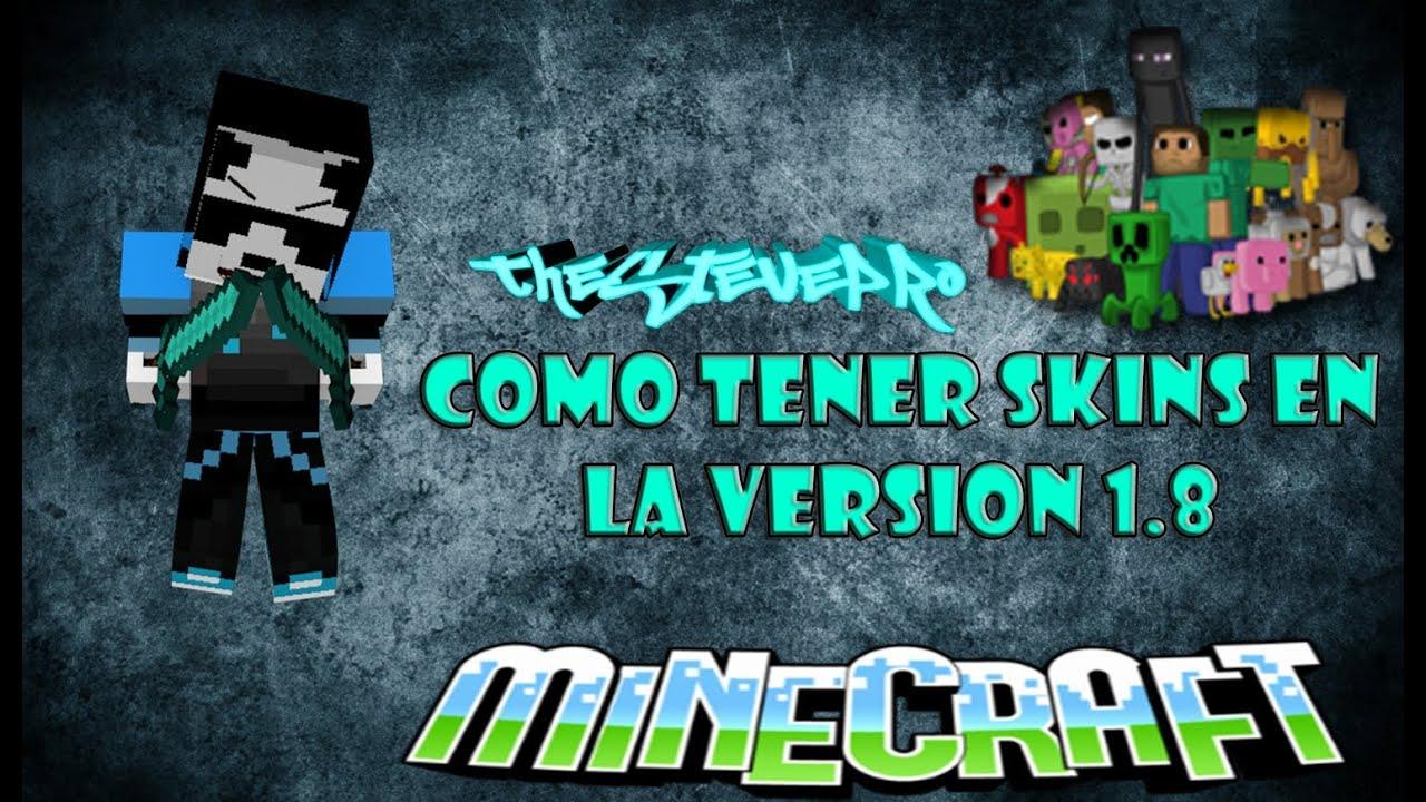 COMO CAMBIAR DE SKIN EN MINECRAFT NO PREMIUMPREMIUM YouTube - Como crear skin para minecraft 1 8 no premium
