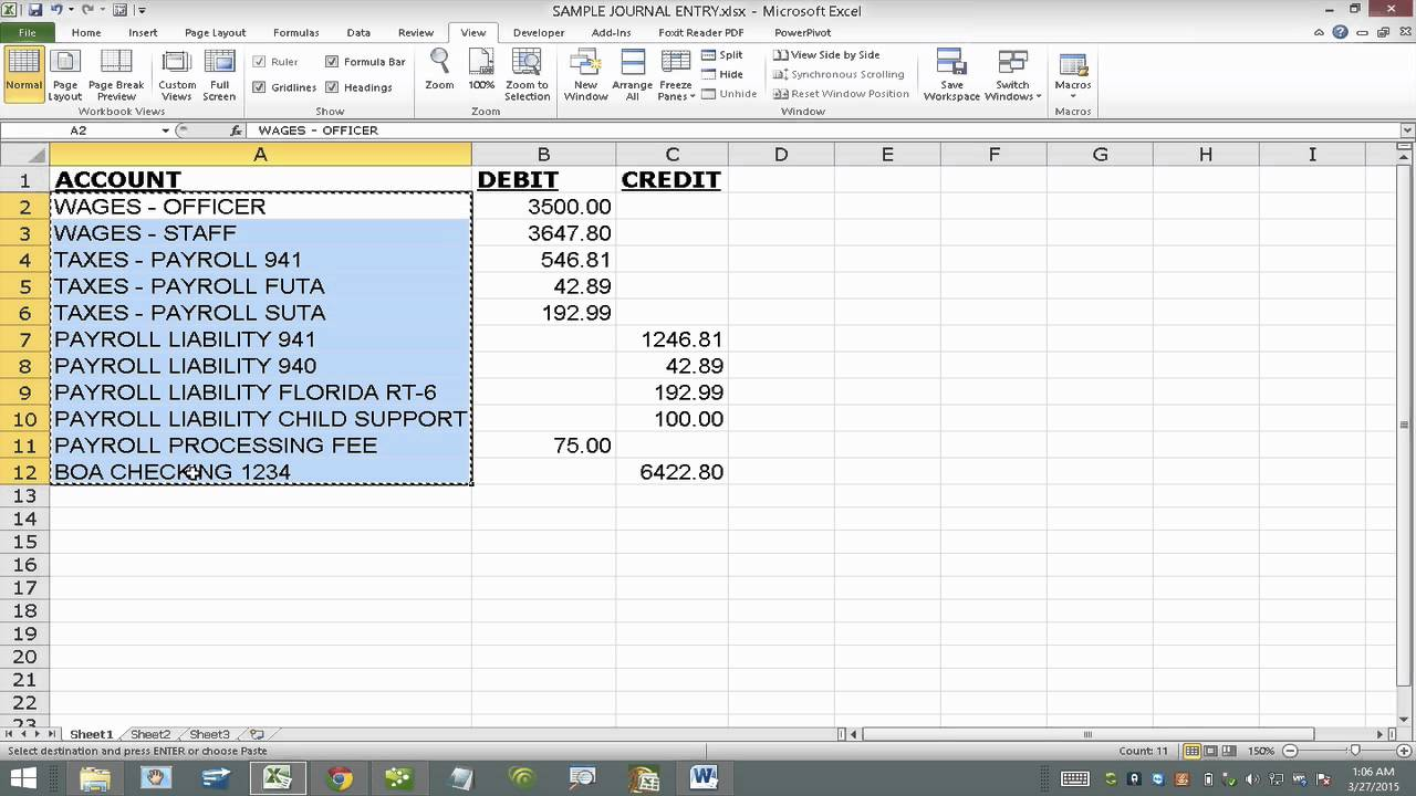 Import Journal Entry Into QuickBooks From Excel Using IIF File - Quickbooks iif file format