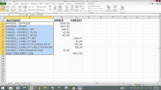 Import Journal Entry into QuickBooks (From Excel) using IIF File. **READ MY NOTES IN DESCRIPTION**