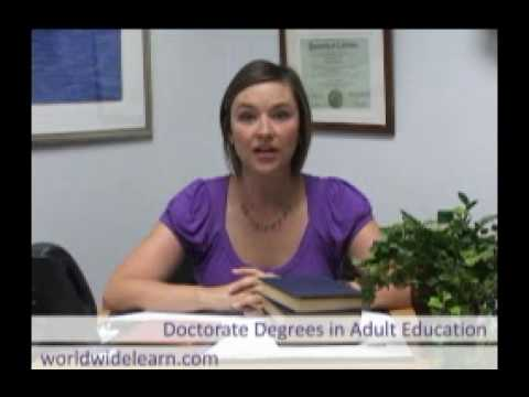 How to Get a PhD in Adult Education