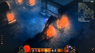 Diablo 3 - Demon Hunter Solo Gameplay - The Foundry (Nightmare Dungeon Run )