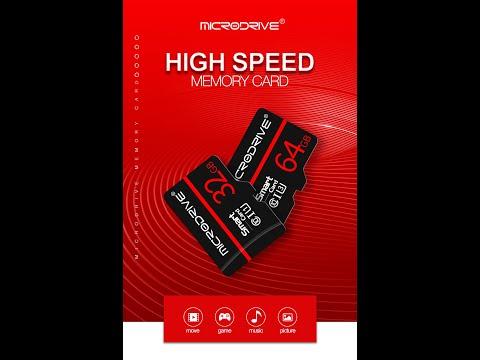 Посылка из Китая распаковка № 156 Карта MicroDrive Micro Sd 32 Гб,  TF Sd карта памяти, карта Micro