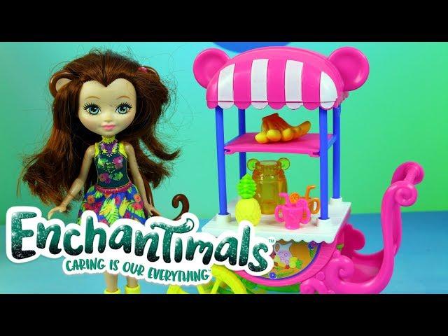 Enchantimals • Owocowy wózek i kolorowe koktajle • bajki dla dzieci