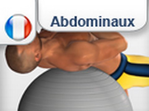 Top Exercices Abdominaux: Crunch avec ballon de gymnastique - YouTube XO83