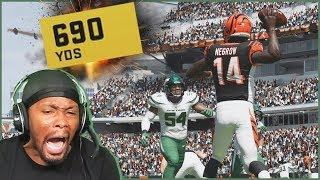Tim Negrow Sets A NEW NFL Record! But Is It Enough To Win?! (Madden 20 Face Of The Franchise Ep.13)