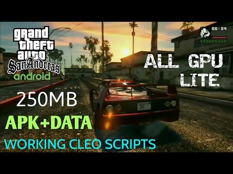 Gta San Andreas Lite Apk Data 250 Mb Offline All Gpu By Modding Fever