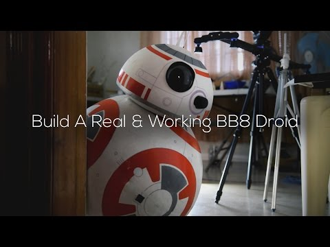 Build A Life-Size Phone Controlled BB8 Droid (Full-DIY-Tutor