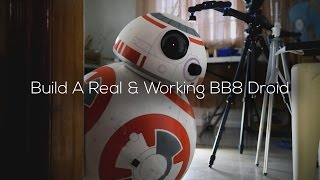 Build A Life-Size Phone Controlled BB8 Droid (Full-DIY-Tutorial)(Build a real working Starwars BB8 droid by only using household materials and Arduino! (No 3D Printers! No CNCs! No Mills!) Full-Tutorial (w/Downloads): ..., 2016-01-21T23:59:39.000Z)