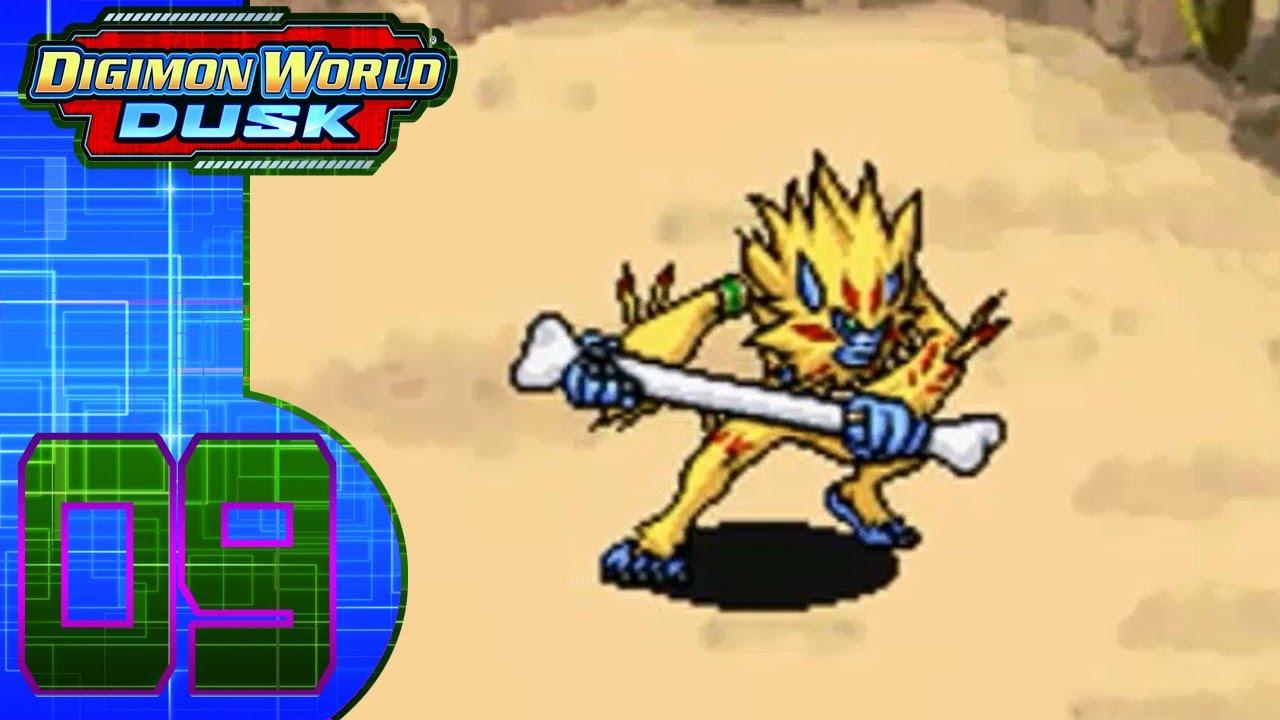 Digimon World Dusk (DS) Part 9 (Golden Hair & DigiDeli-Cake)