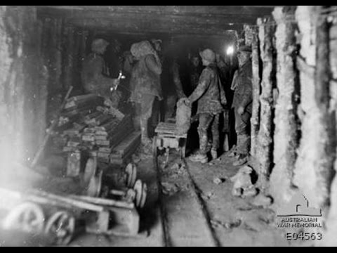 Great War Tunnelling and Mining - Andy Prada