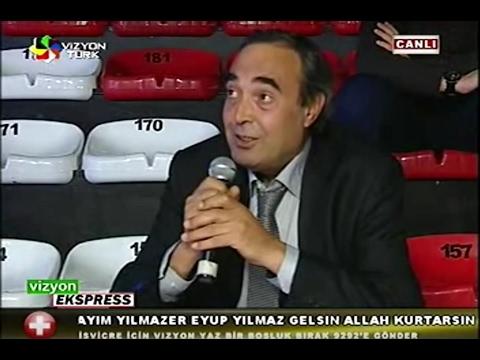 Bünyamin EROL Vizyon Türk Tv  Canlı Yayında