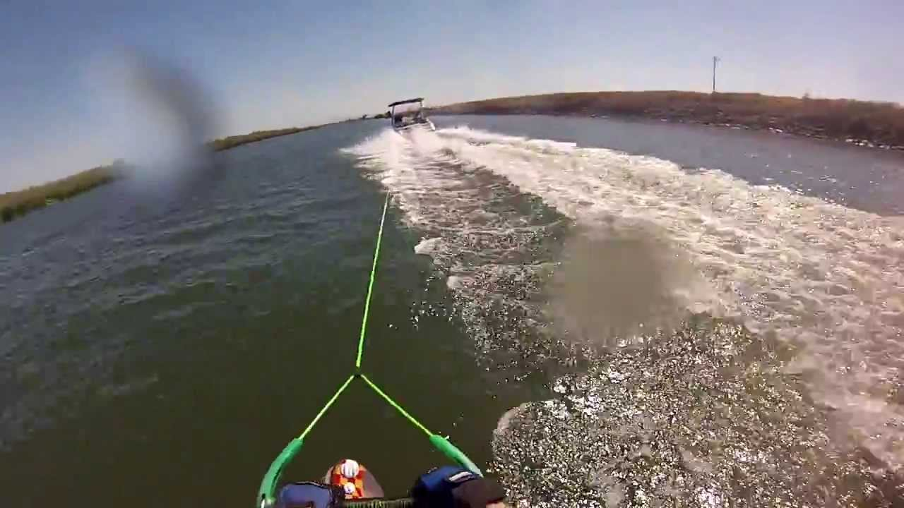 Gutsy air chair flip over dock mike murphy on hydrofoil waterskiing - Two Air Chair Back Flips In A Row Gopro Head Mount