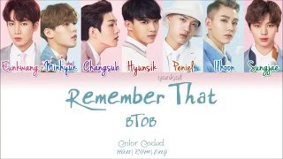 Download BTOB (비투비) – Remember That (봄날의 기억) (Color Coded Han|Rom|Eng Lyrics) | by Yankat Mp3