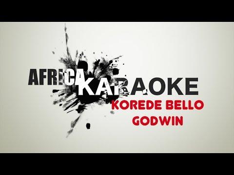 Korede Bello - Godwin | Version Karaoke (instrumental + paroles)