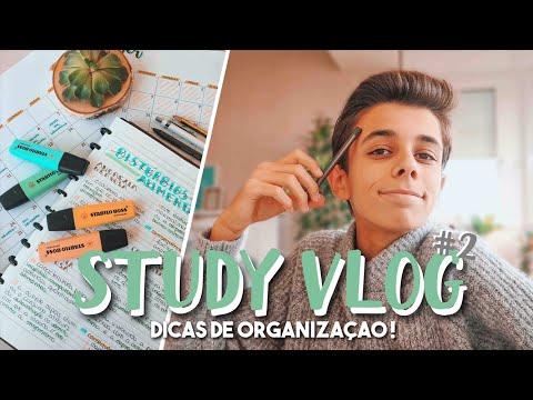 STUDY VLOG 2 // DICAS DE ORGANIZAÇÃO E APRESENTAÇÕES | TiagoJLeitão