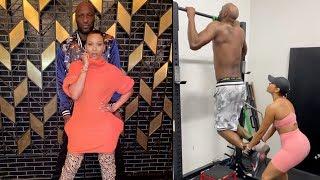 Lamar Odom's Fiance Sabrina Holds Him Down During Kobe Loss! 🙏🏽