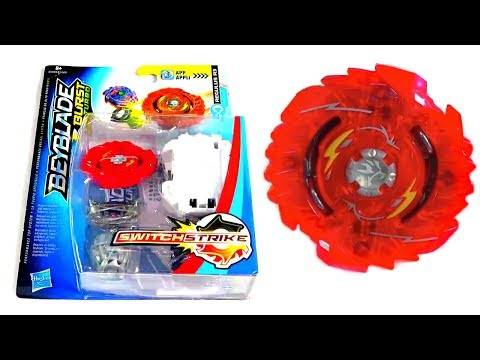 Shelter Regulus R3 NEW Hasbro Beyblade Turbo Unboxing Review