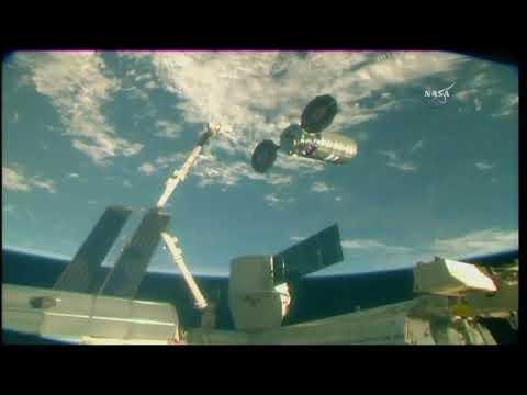 Cygnus Spacecraft Departs The International Space Station