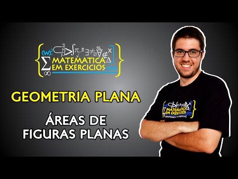 Geometria Plana - Aula 11 - Áreas de Figuras Planas - Prof. Gui