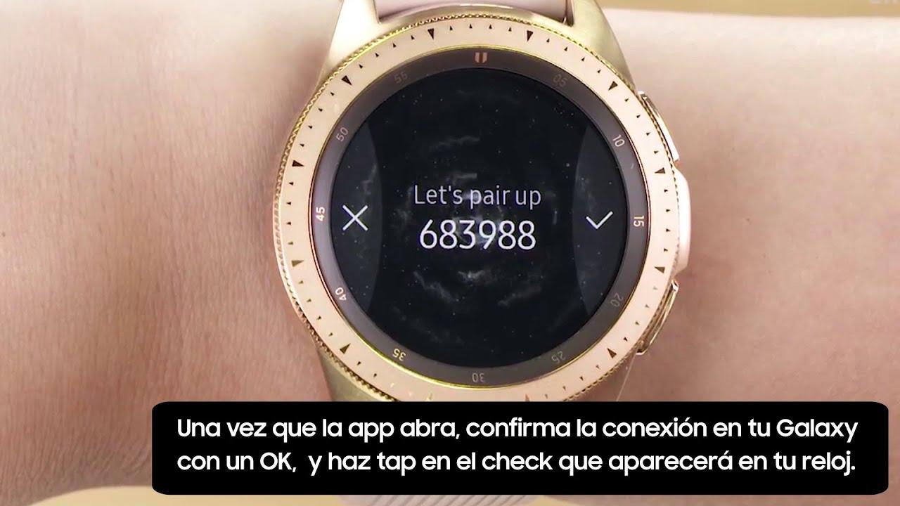 cb2ea36a3407 Samsung - How To - Galaxy Watch  ¿Cómo conectar tu reloj a tu ...