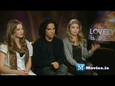The Lovely Bones  Cast s with Reece Ritchie, Rose McIver & Carolyn Dando