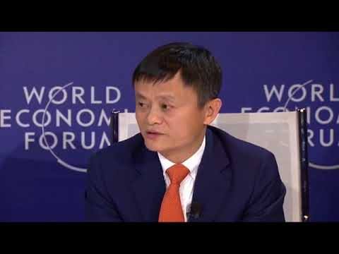 World Economic Forum Jack Ma talks about his fears for the next 30 years Alibaba.com Alibaba Group