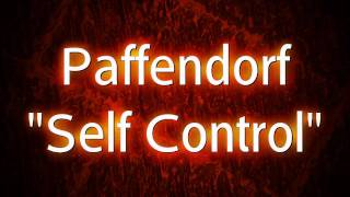 Watch Paffendorf Self Control video