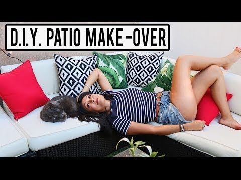 D.I.Y. SMALL PATIO MAKEOVER!  |  D.I.TRY