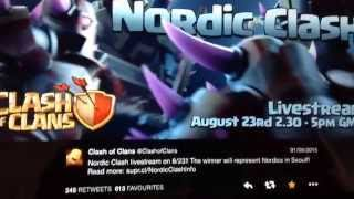 Clash of Clans - Nordic Clash - Live Tomorrow