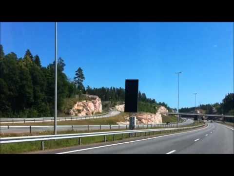 Driving to Vantaa, Finland
