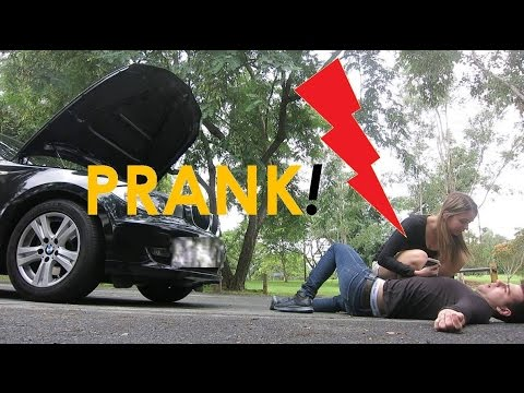 EXTREME Electric Shock PRANK on Girlfriend - SMOKING reaction