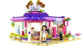 Lego Friends 41336 Emma´s Art Cafe & Lego Friends 41329 Olivia's Deluxe Bedroom