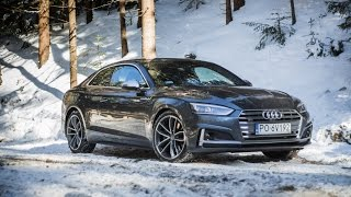 2018 Audi S5 (354 HP) - Fun With The Snow, Start Up Sound, Launch-control Acceleration