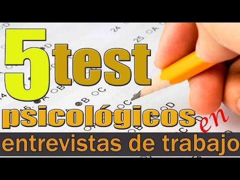 5 test psicológicos más utilizados en las entrevistas de trabajo