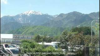 NORTHERN JAPAN ALPS MOUNTAIN RANGE