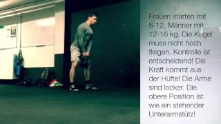 Der Kettlebellswing - Hüftdominanter vs. Squatdominanter Stil und ein Workout