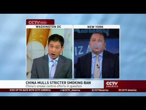 China Mulls Smoking Ban in Public Places