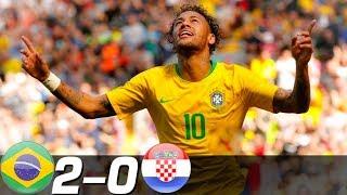 ネイマール復活のスーパーゴール!最強ブラジル快勝!クロアチア代表xブラジル代表【ハイライト】 thumbnail