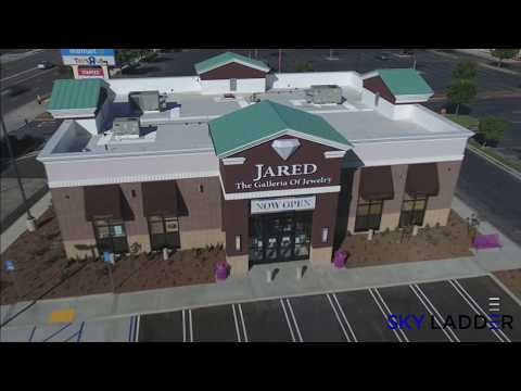 Skylapse™: Aerial 360 Degree Time Lapse - Jared Jewelry Store Construction (0:55)