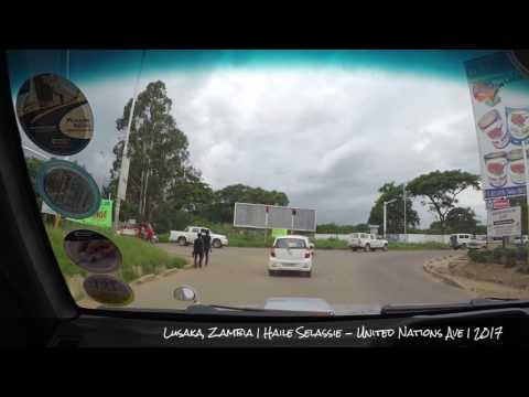 Drive Through Tour - Zambia - (Lusaka Pt 13)