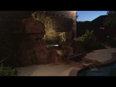 Gotts landscaping and supplies custom waterfall