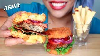 ASMR Mac N Cheetos Sliders + Apple Fries [Crunchy Eating Sounds] *No Talking