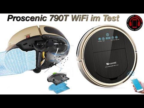 Proscenic 790T Wifi Staubsauger Roboter im Test [Deutsch/German]