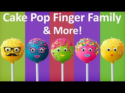 Thumbnail: Cake Pop Finger Family Collection The Finger Family Cake Pop Family Nursery Rhymes for kids