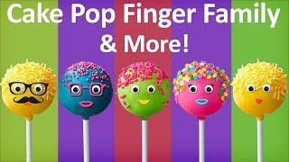 Repeat youtube video Cake Pop Finger Family Collection The Finger Family Cake Pop Family Nursery Rhymes for kids
